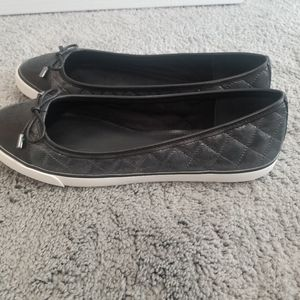Tory Burch leather slip on sneakers